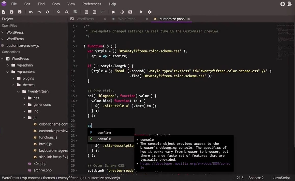 Codeanywhere Editor
