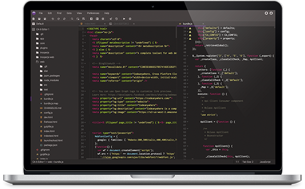 Codeanywhere Editor